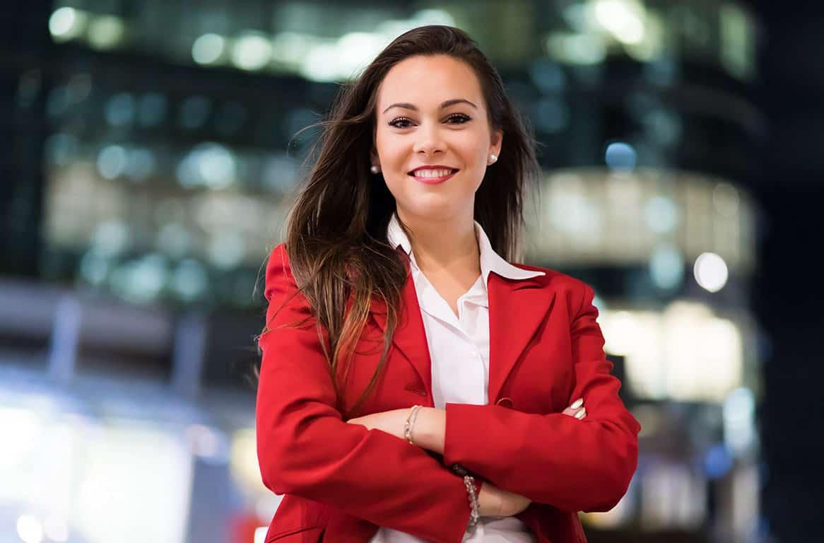 Erfolgreiche Geschäftsfrau werden