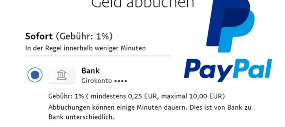 Sofortüberweisung Banken